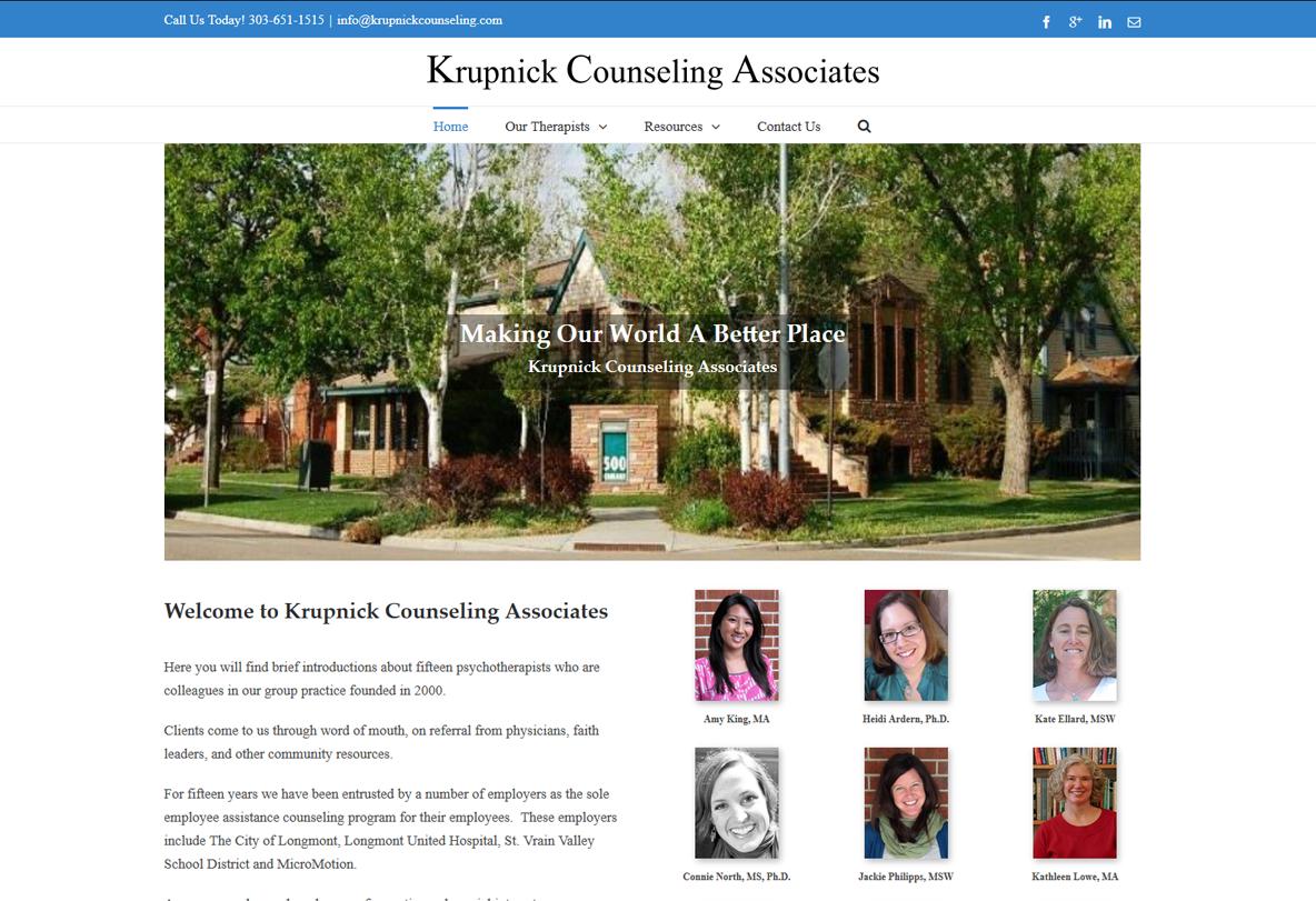 Krupnick Counseling Associates